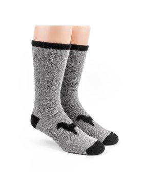 1 Heavy Thermal socks - 80% Alpaca Grey