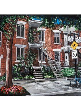 Gilles Blain Mrs. Anna's house 10x10