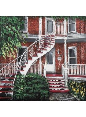 Gilles Blain Mrs. Truchon house 10x10