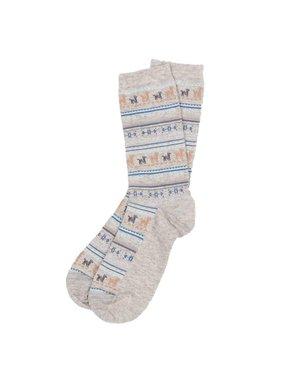Alpaca Sock Grey  L-XL