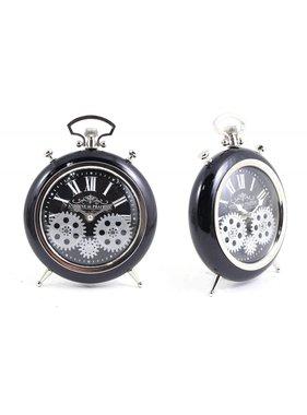 Gears Black Table Watch