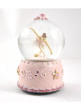 1 Boule d'eau Musicale avec Ballerine