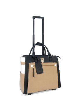 Executive Rolling Briefcase - Laura Lock