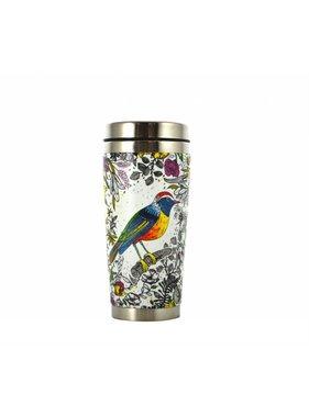 Grand thermos à café oiseau 475ml