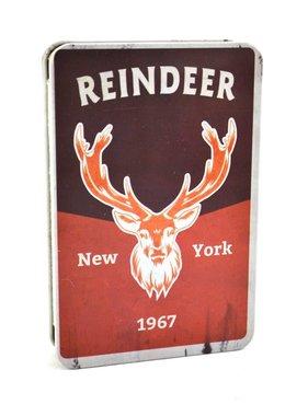 Reindeer Metal Notebook