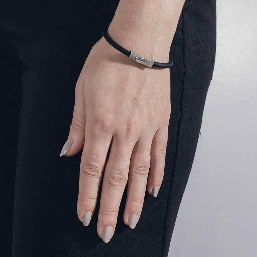 Anne Marie Chagnon Bracelet Carvi Étain