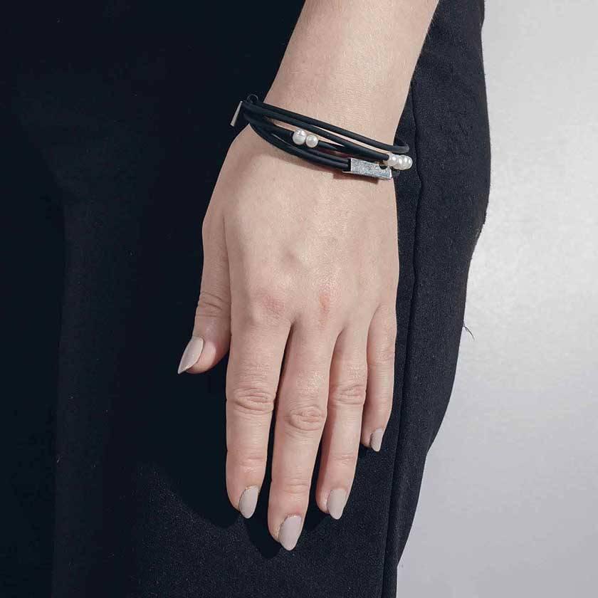 Anne Marie Chagnon Bracelet Folam Étain