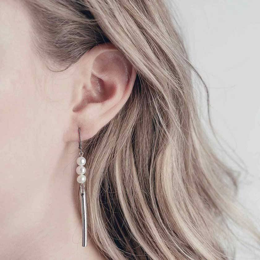 Anne Marie Chagnon Boucle d'oreille Clemo