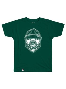 1 The Bearded - Forest green