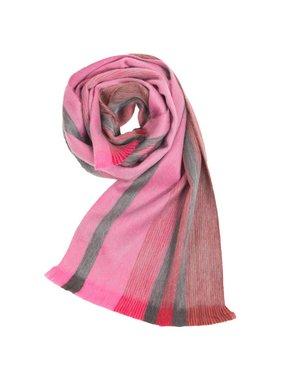 1 Alpaca seamless scarve - Dahlia