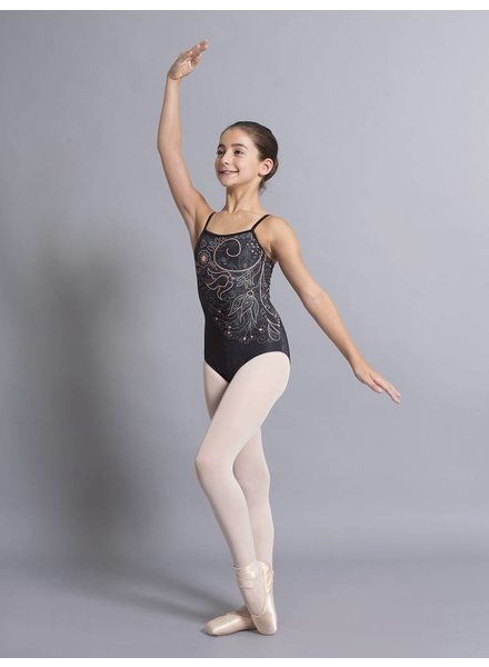 Ballet Rosa Grace, Printed Camisole Leotard