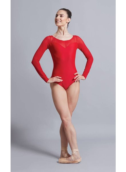 Ballet Rosa Perle, Long Sleeve Leotard