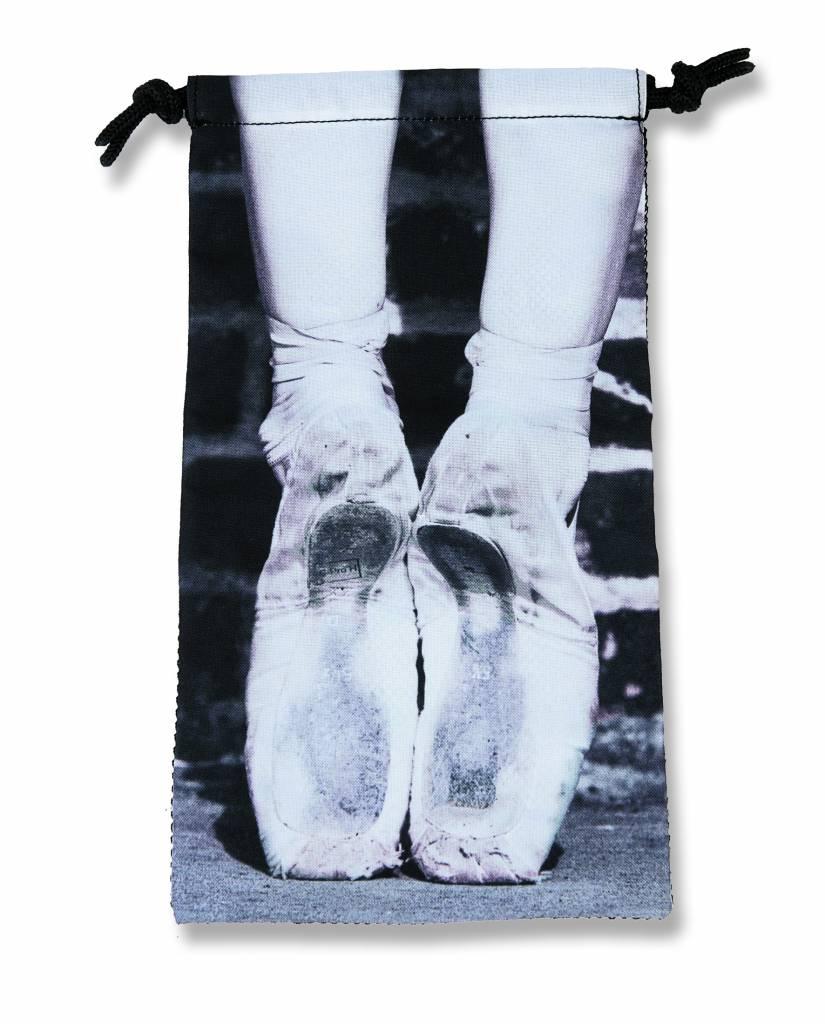 Forever B. Forever B Mesh Pointe Shoe Bag