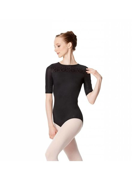 Lulli Irene Short Sleeve Leotard