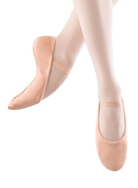 Bloch Adult Dansoft Full Sole Leather Ballet Shoe