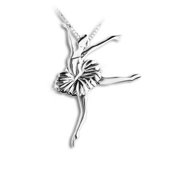 Mikelart Dancer Jewel Lago Dei Cigni Silver