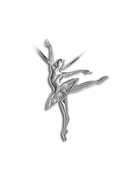 Mikelart Dancer Jewel Schiaccianoci Silver