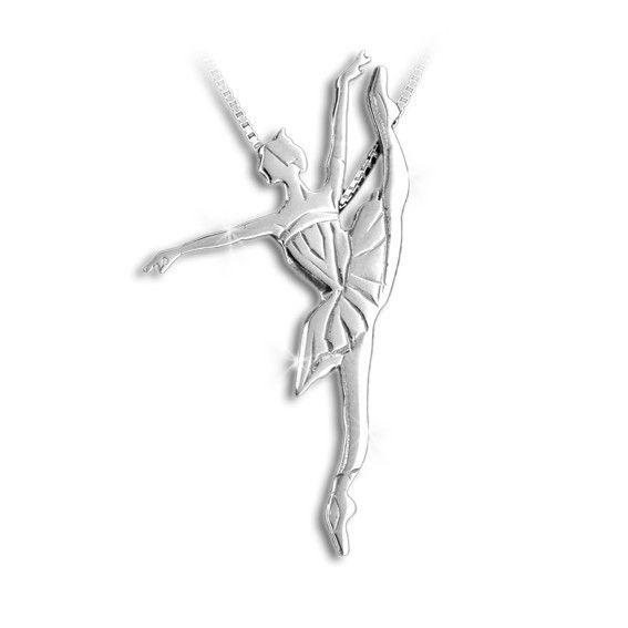 Mikelart Dancer Jewel Developpé Silver