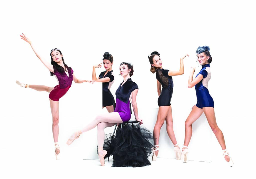 Ballet Rosa Isabella Biketard