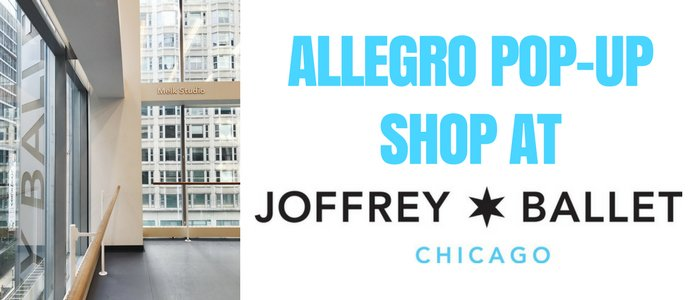 Allegro Pop-Up Shop at Joffrey!