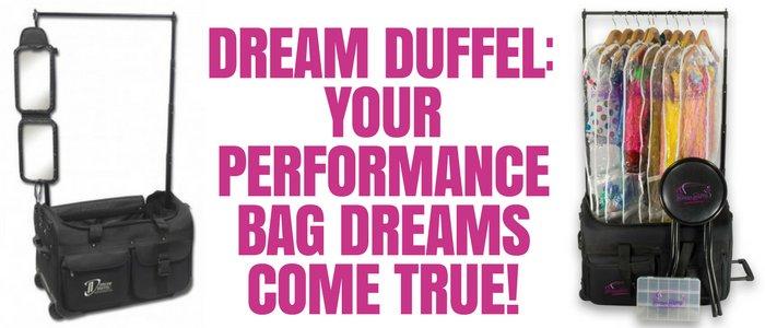 Dream Duffel: Your Performance Bag Dreams Come True!