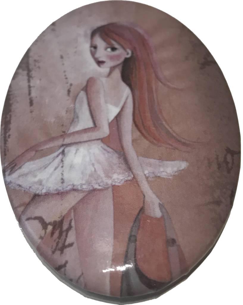 Dance Gallery Pocket Mirror
