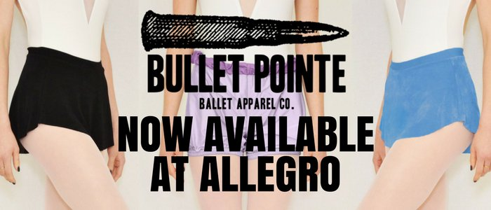 Bullet Pointe now available at Allegro!