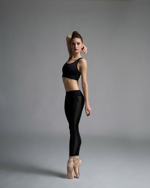 Jule Dancewear Dotted Mesh Legging