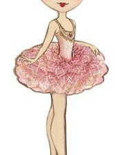 Ballet Papier Vintage Doll
