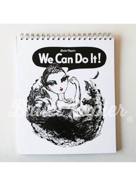 Ballet Papier We Can Do It Notebook