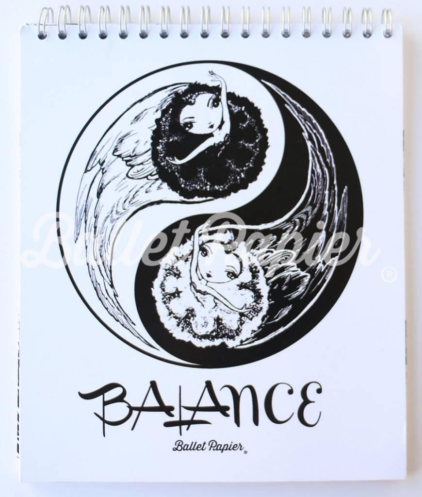 Ballet Papier Balance Notebook