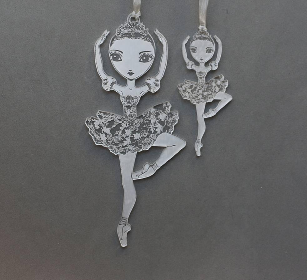 Ballet Papier Large Pirouette Hanging Ornament