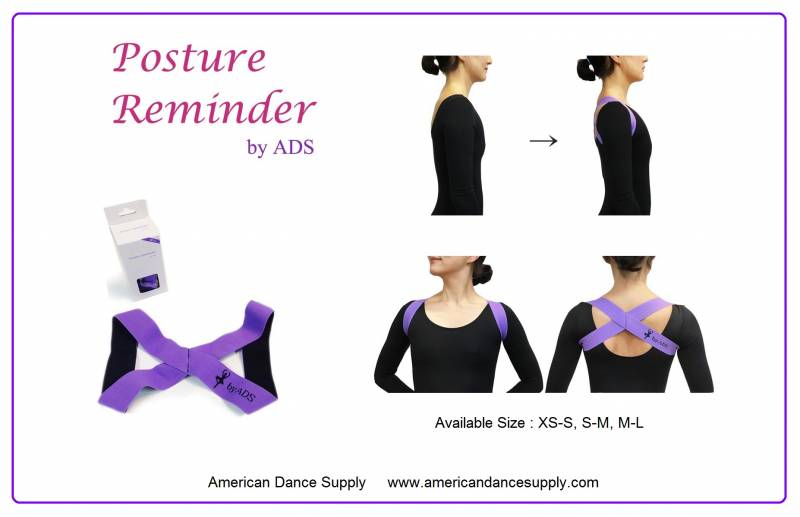 American Dance Supply Posture Reminder