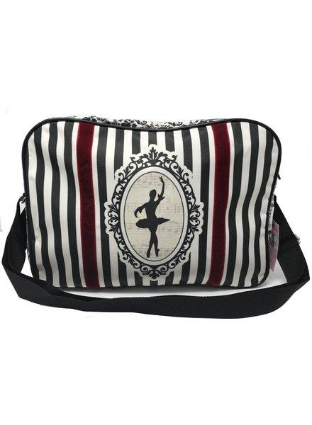 El Petit Ballet Striped Duffle Bag