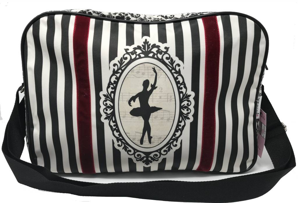 El Petit Ballet Striped Duffel Bag