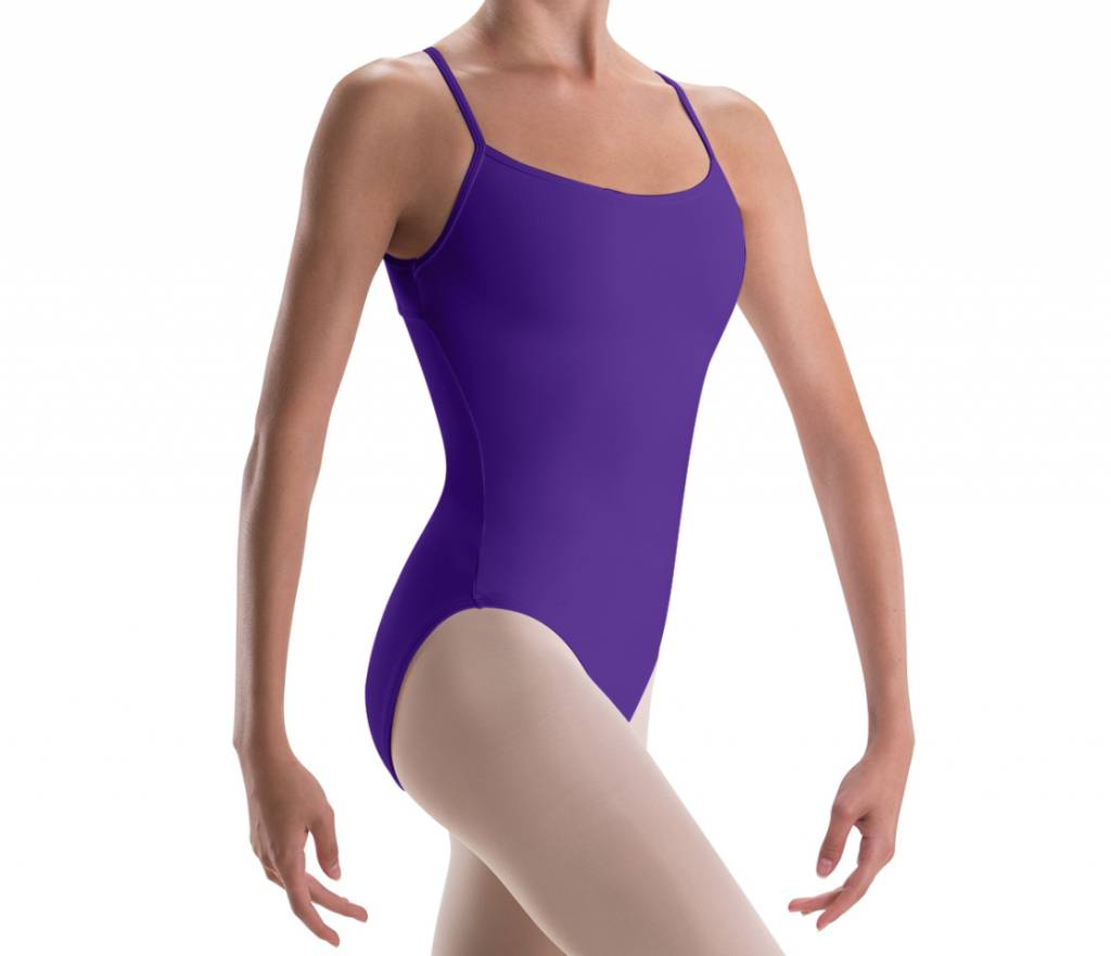 Motionwear Double Strap, Open Back Leotard