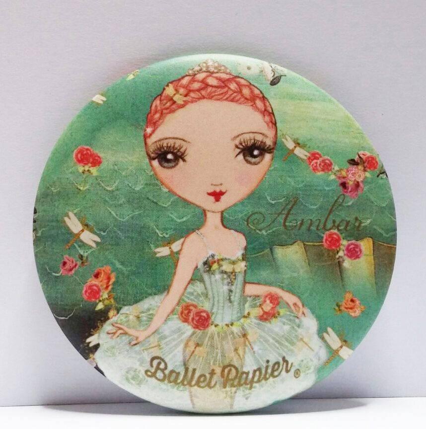 Ballet Papier Ballet Ètoiles Pocket Mirror