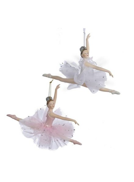 "5"" Leaping Ballerina Ornaments"
