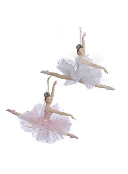 "5"" Leaping Ballerina Ornaments"