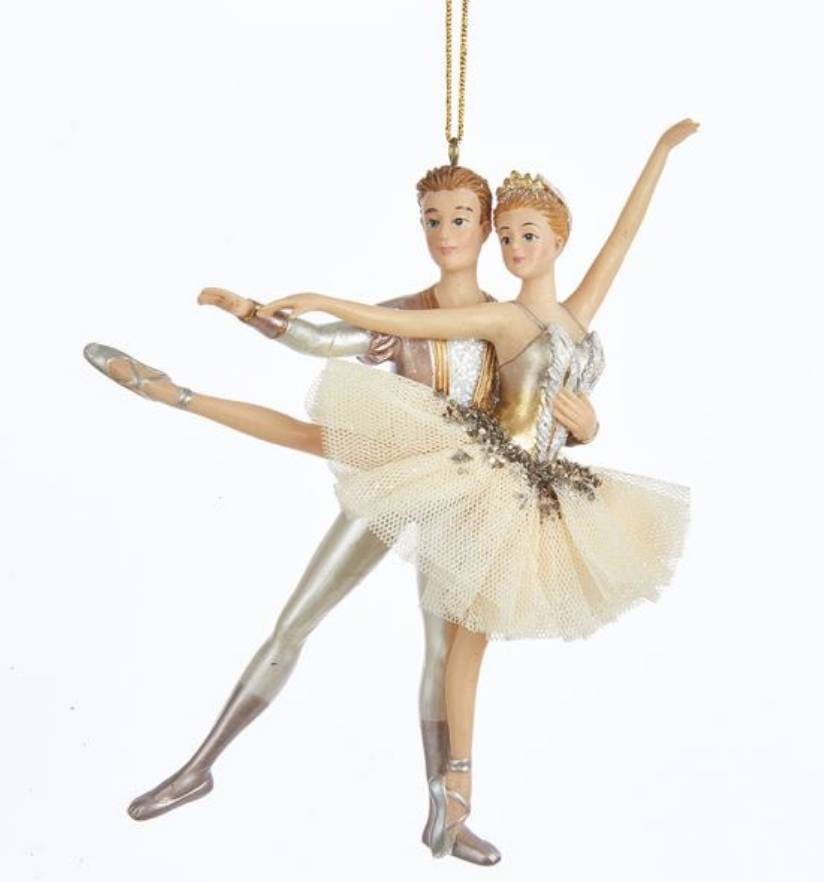 Ballet Couple Ornament