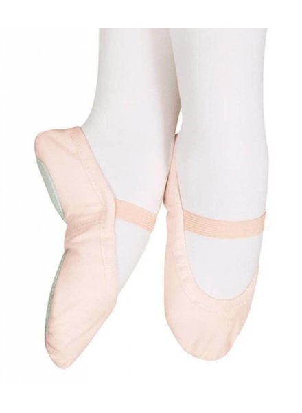 Sansha Star-Split Kid's Canvas Ballet Shoe