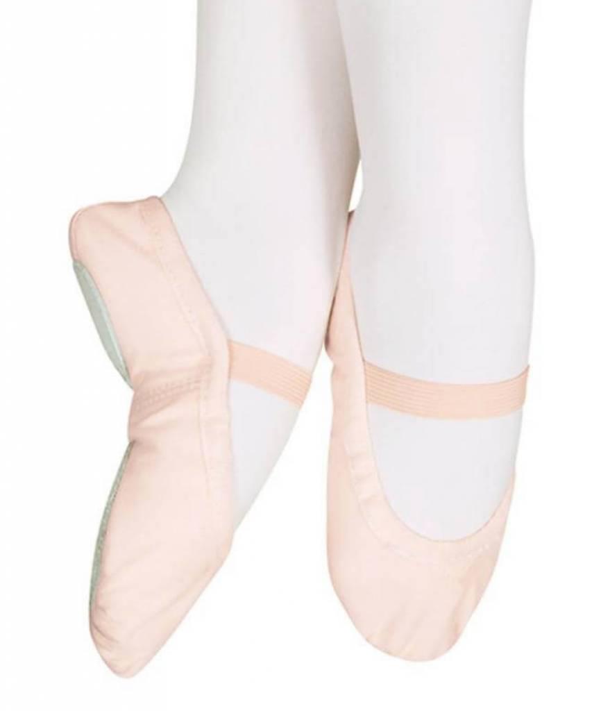 Sansha Star-Split Kid's Canvas Ballet Shoe