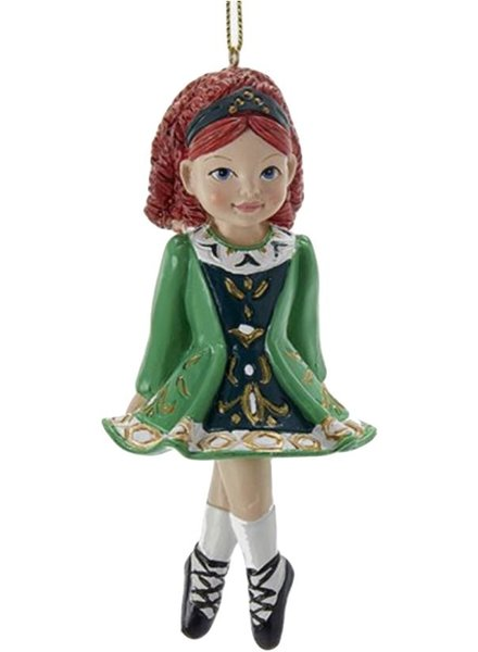 Irish Girl Ornament