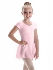 Motionwear Bow Back Cap Sleeve Dress