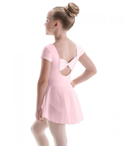 Motionwear Bow Back Cap Sleeve Dress