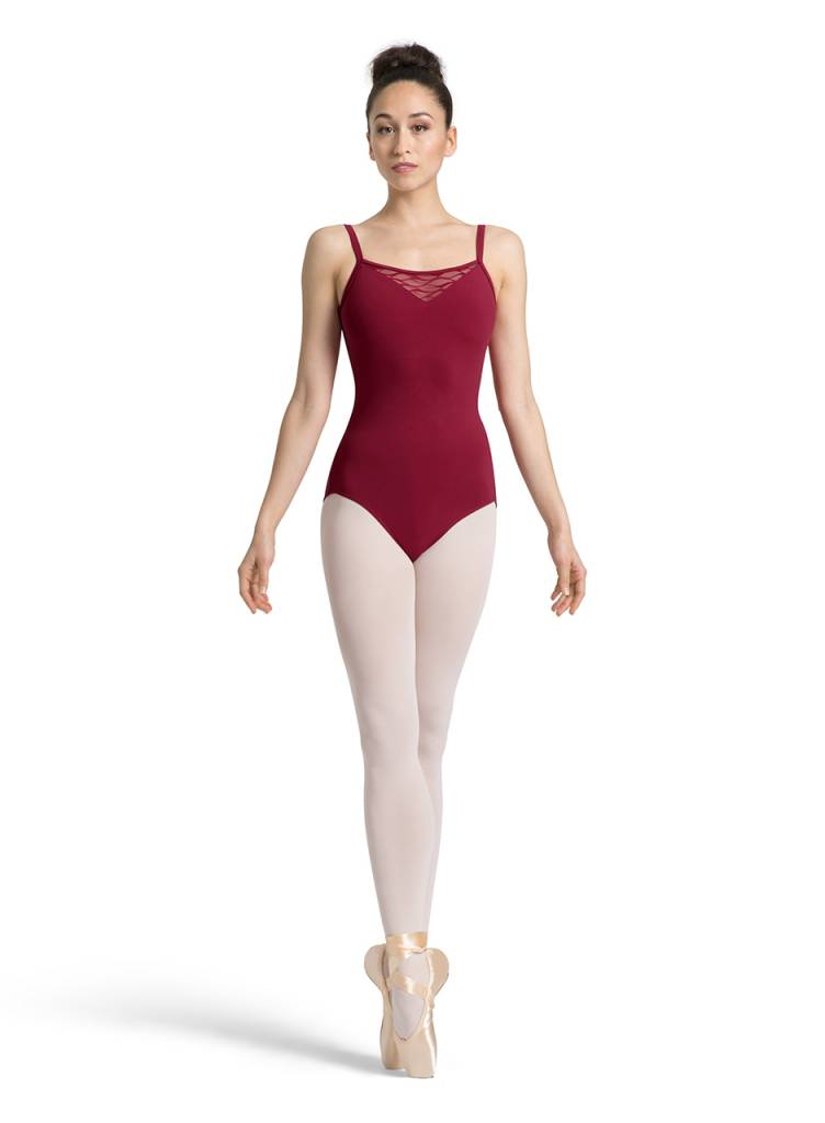 Mirella Bow Back Camisole Leotard