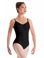 Motionwear Pinch Front Camisole Leotard