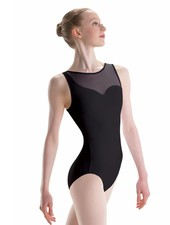 Motionwear Asymmetric Tank Leotard