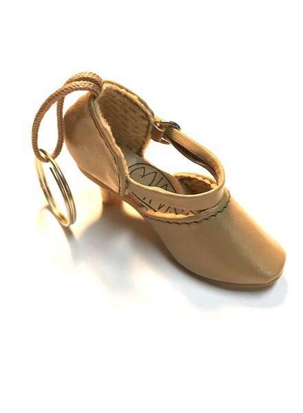 Pillows for Pointes Mini Ballroom Shoe Key Chain