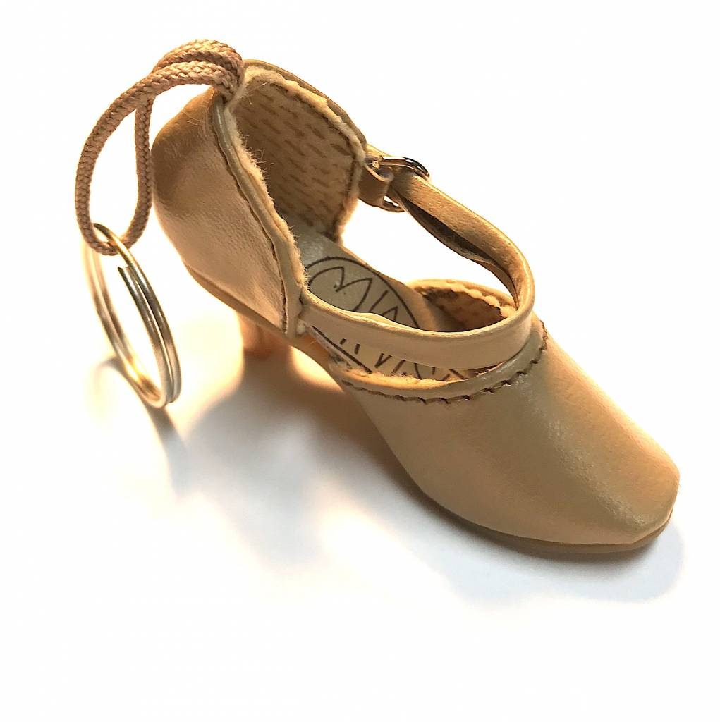Black Shoe Gold Chain